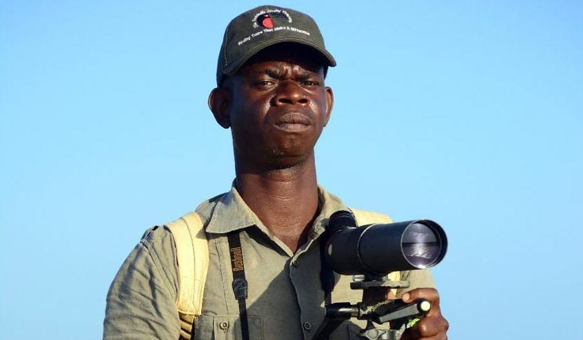 Johnson, our guide for Kenya Birding Tours