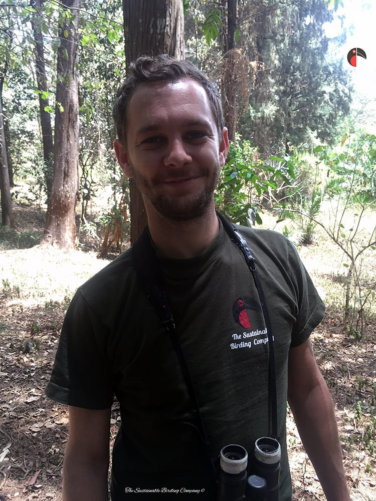 Sam, the Director behind our Birding Tours in Uganda and Kenya