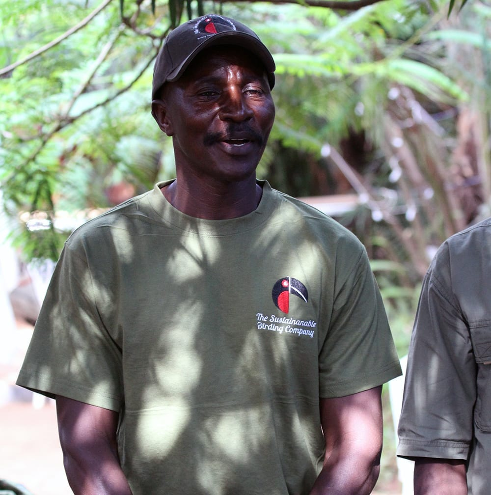 Stephen, our lead guide for Uganda Birding Tours