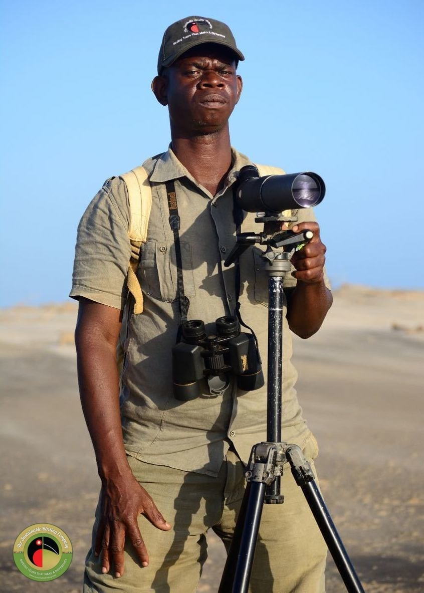 Meet Johnson, our guide for birding tours in Kenya