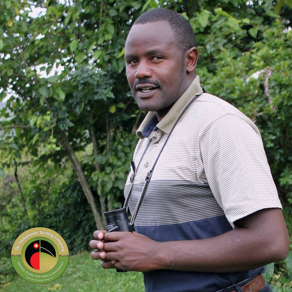 Meet Sammy, our lead guide for birding tours in Kenya