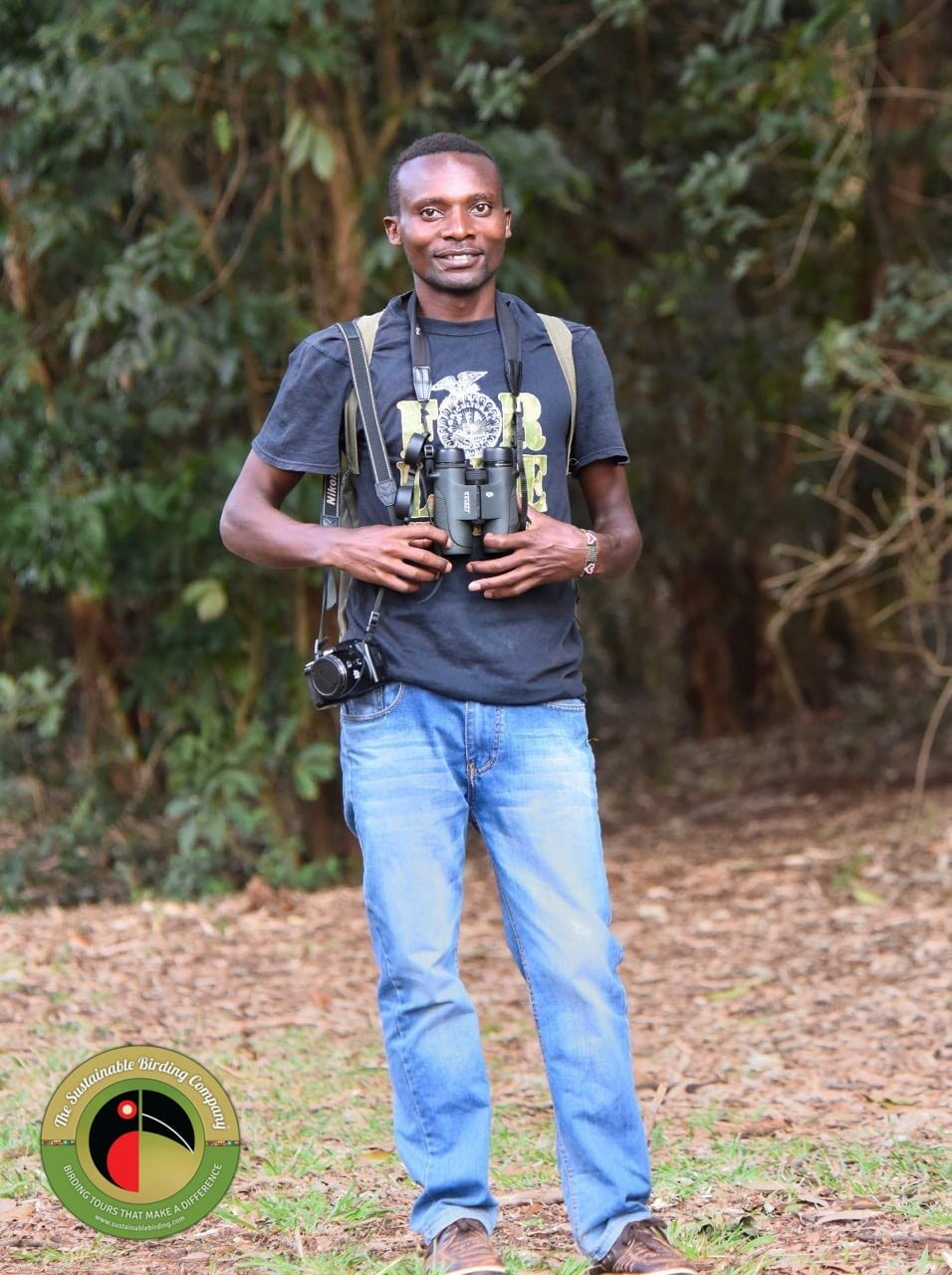Meet Samuel, our assistant guide for birding tours in Kenya
