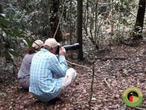 Wolfram on one of our Kenya bird photography tours