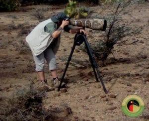 Rose on her Kenya Bird Photography Tour