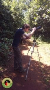Dan on one our our Kenya Birdwatching safaris