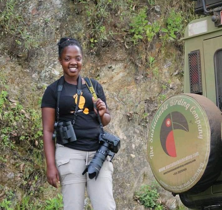 Happy Birthday to Susan, our awesome bird guide in Uganda!